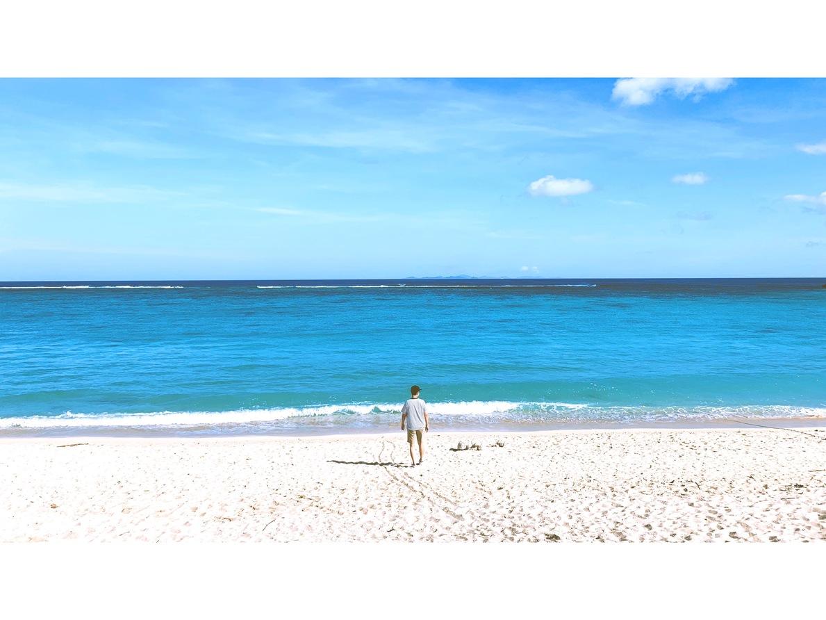【今帰仁村】長浜ビーチはノスタルジックで最高のビーチだった